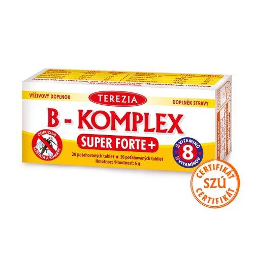 Terezia B-Komplex Super Forte+ 20 cps