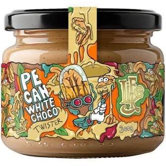 LifeLike Twister Pekan/biela čokoláda – 300 g
