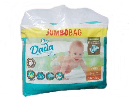 Dada Extra Soft Jumbo Bag 3 Midi 96 ks