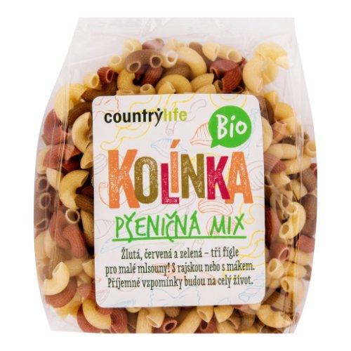 COUNTRY LIFE Cestoviny kolienka pšeničné mix 400 g BIO