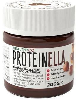 HealthyCo Proteinella čokoláda/lieskový oriešok 200 g