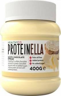 HealthyCo Proteinella Biela čokoláda 400 g