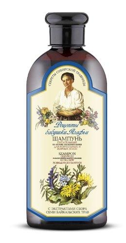 Natura Siberica Agafja vyživujúci šampón pre normálne a mastné vlasy 350 ml