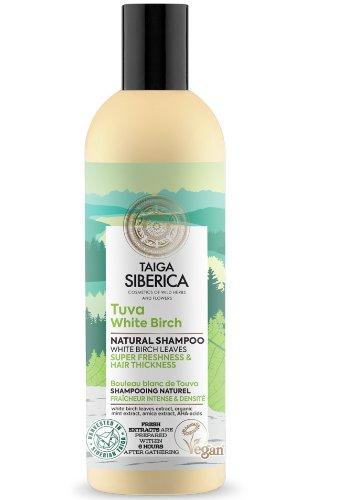 """Prírodný šampón """"Tuva biela breza"""" Taiga Siberica 270 ml"""