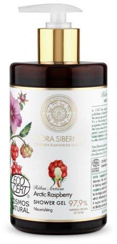 Flora Siberica - Výživný sprchový gél - Arktická malina 480 ml