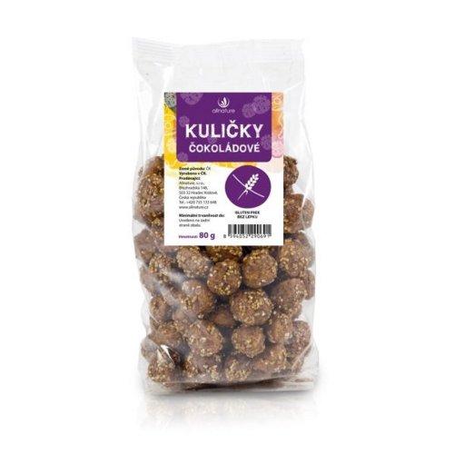 ALLNATURE Guľôčky čokoládové 80 g