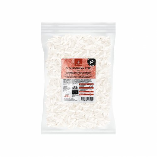 ALLNATURE Dlhozrnná ryža biela BIO 400 g