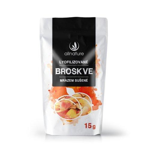 ALLNATURE Broskyňa sušená mrazom plátky 15 g
