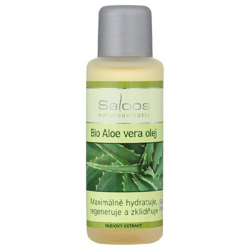 SALOOS Aloe vera Olejový extrakt BIO 50 ml