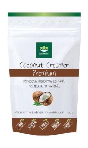 Topnatur COCONUT CREAMER Premium kokosová pochúťka do kávy 150 g