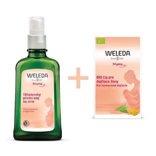 WELEDA Tehotenský telový olej 100 ml