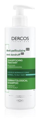 Vichy DERCOS Šampón proti lupinám na normálne až mastné vlasy 400 ml