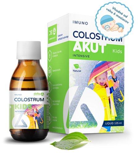DELTA COLOSTRUM sirup KIDS 100% NATURAL 125 ml