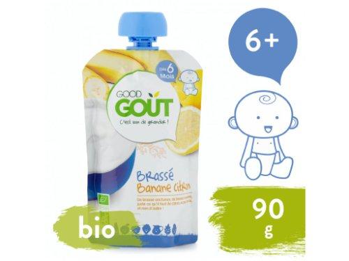 Good Gout BIO Banánový jogurt s citrónom 90 g