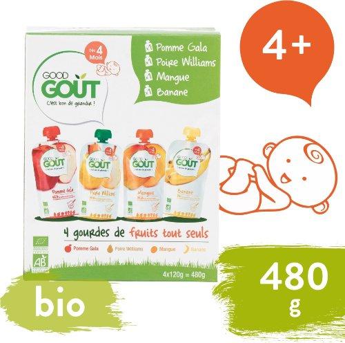 Good Gout BIO variácie kapsičiek Moje prvé ovocie 120 g