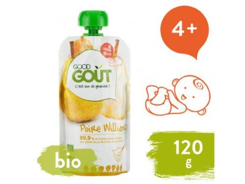 Good Gout BIO Hruška 120 g