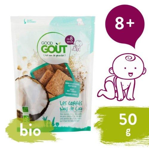 Good Gout Bio kokosové vankúšiky 50 g