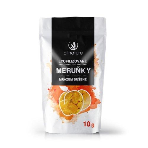 ALLNATURE Marhuľa sušená mrazom kúsky 10 g
