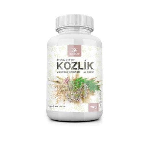 ALLNATURE Kozlík bylinný extrakt 60 cps