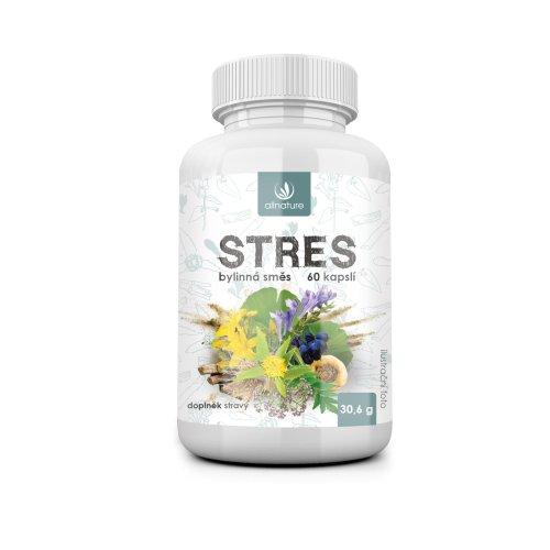 ALLNATURE Stres bylinný extrakt 60 cps