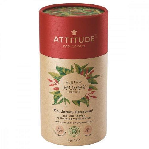 Attitude Prírodný tuhý deodorant Super leaves Červené listy viniča 85 g