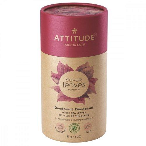 Attitude Prírodný tuhý deodorant Super leaves Listy bieleho čaju 85 g