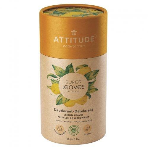Attitude Prírodný tuhý deodorant Super leaves Citrusové listy 85 g