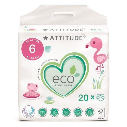 Attitude Detské plienky XL (veľkosť 6 / 16-30kg) 22 ks