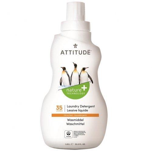 Attitude Prací gél s vôňou citrónovej kôry 1050 ml (35 pracích dávok)