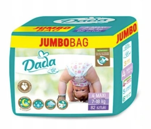 Dada Extra Soft Jumbo Bag 4 Maxi 82 ks