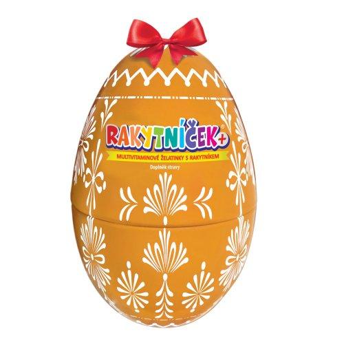 TEREZIA Rakytníček+ želatínky veľkonočné vajce žlté 50 ks