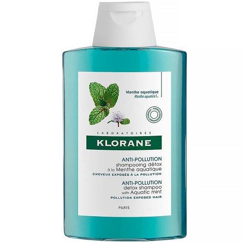 KLORANE Detoxikačný šampón s mätou vodnou 200 ml