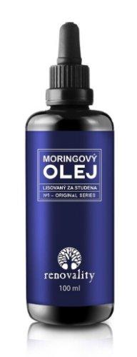 Moringový olej lisovaný za studena RENOVALITY 100 ml