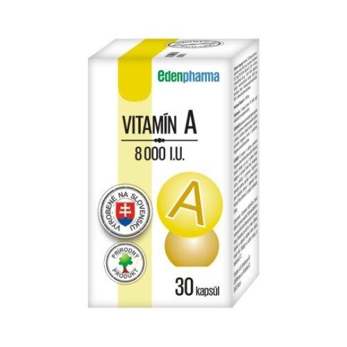 EDENPharma Vitamín A 8000 I.U. 30ks