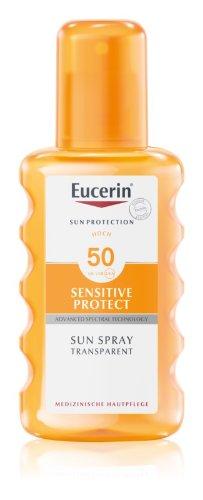 Eucerin SENSITIVE PROTECT transparentný sprej SPF 50 200 ml