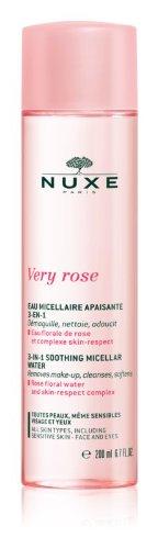 Nuxe Very rose 3-v-1 čistiaca voda 200 ml