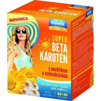 Revital PREMIUM SUPER BETA-KAROTÉN 80+40 tbl zadarmo