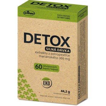 Vitar EKO Detox silná dávka 60 ks
