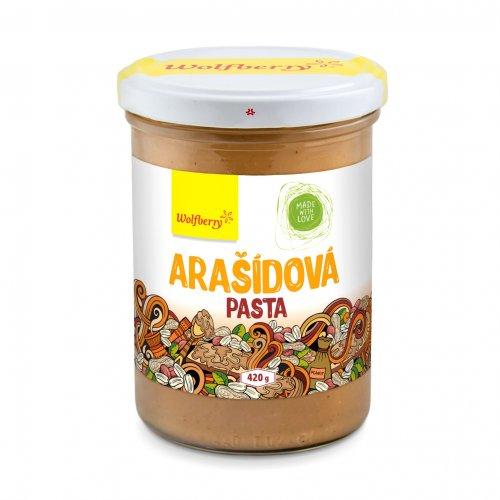 WOLFBERRY Arašidová pasta 420 g