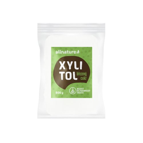 ALLNATURE Xylitol brezový cukor 500 g