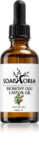 Soaphoria Organic ricínový olej 50 ml