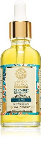 Natura Siberica Rakytníkový olej pre starostlivosť o poškodené vlasy 50 ml