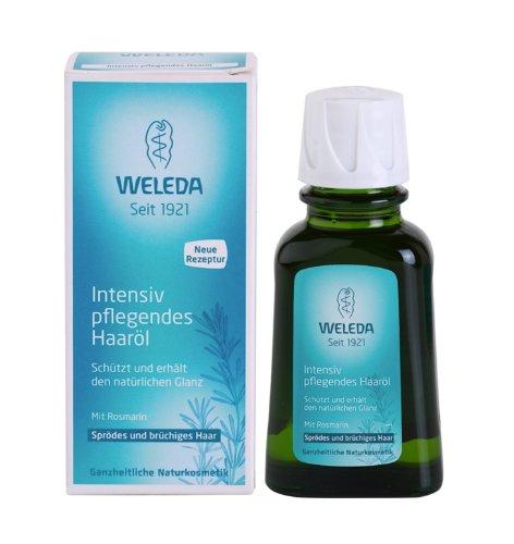 Weleda Rozmarín olej na vlasy pre posilnenie a lesk vlasov 50 ml