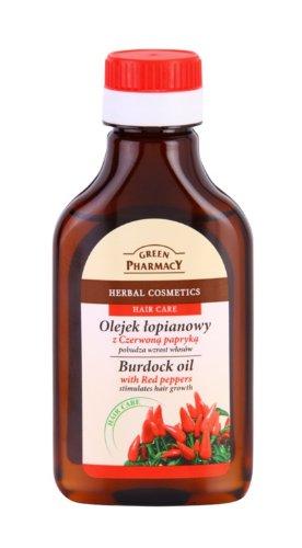 Green Pharmacy lopuchový olej pre stimuláciu rastu vlasov 100 ml