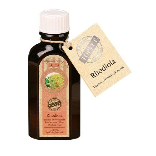 TOPVET Rhodiola - Rozchodnica - tinktúra - kvapky 50 ml