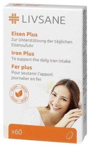 LIVSANE Železo plus s vitamínmi 60 tbl
