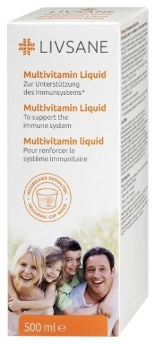 LIVSANE Multivitamínová tekutina 500 ml