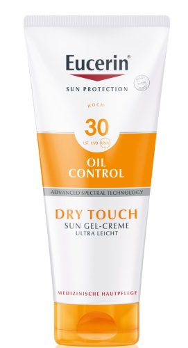 Eucerin Dry Touch OIL CONTROL krémový gél na tvár SPF 30 200 ml