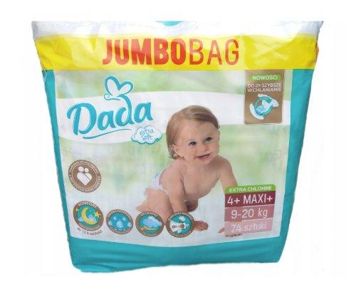 DADA Extra Soft Jumbo Bag 4+ MAXI 74 ks