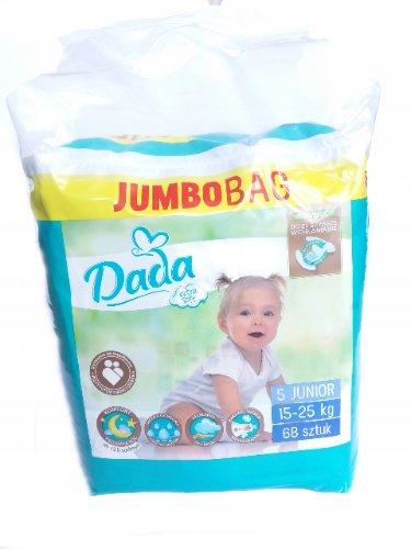DADA Extra Soft Jumbo Bag 5 Junior 68 ks